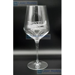 Tiger Month - Wine Glass - Medium