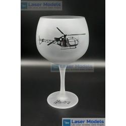 Alouette II - GIN Glass 1x