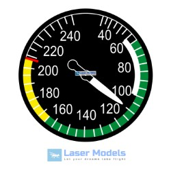 Airspeed Indicator - stickers