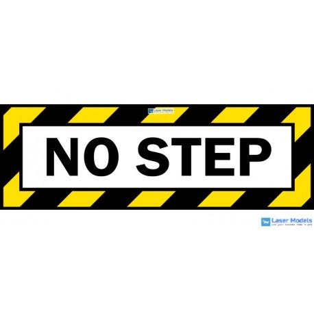 NO STEP - stickers