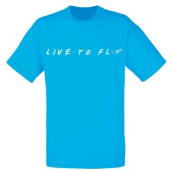 Tshirt Live to Fly V3