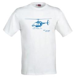 Tshirt Bell 206 Jet Ranger
