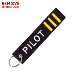 Remove Before Flight - Keychain
