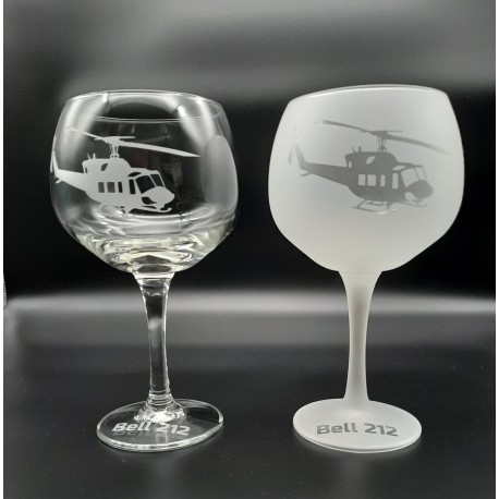 Bell 212 - GIN Glass 1x