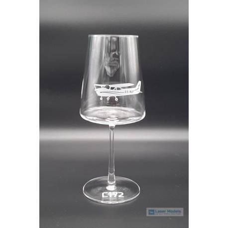 Cessna 172 - Wine Glass 1x
