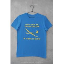 Glider - no engine - T-shirt