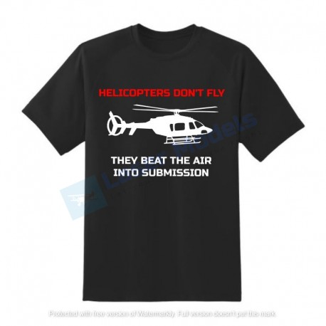 Tshirt  Helicopter